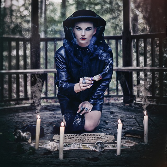 We love magic and mystery. Would you like to know your future? #magic #dark #candles #tarot #ouija #fashion #EVOLproductions